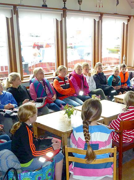 Hyr Bergkvara Båtklubbs klubblokal